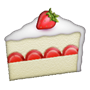 Réponse strawberry cake