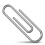 Answer paper clip